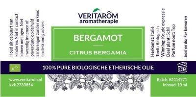Bergamot biologische etherische olie