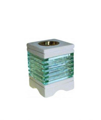 aromalamp zandsteen met glas