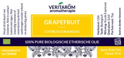 Grapefruit biologische etherische olie