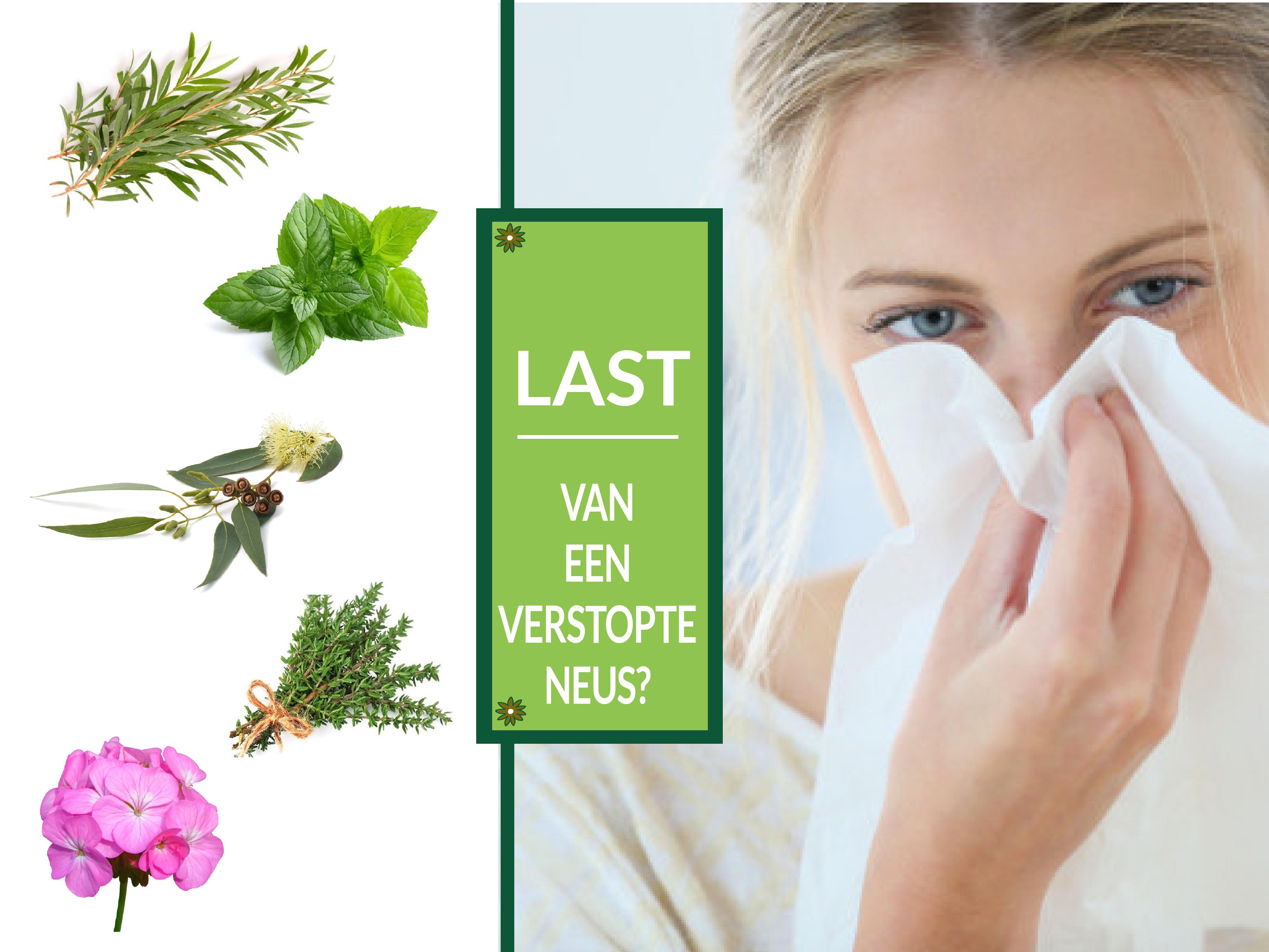 last van verstopte neus of verkoudheid