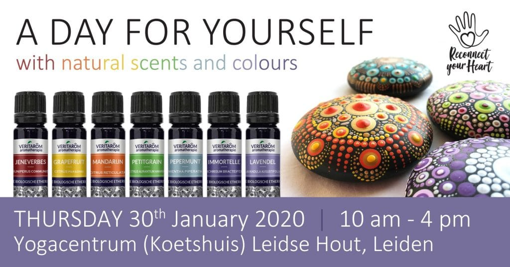 a day for yourself: worksshop natural scents and colors