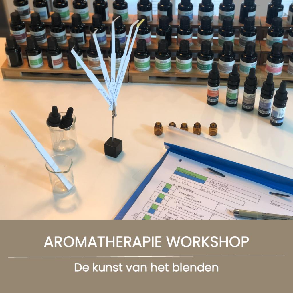 aromatherapie workshop de kunst van het blenden
