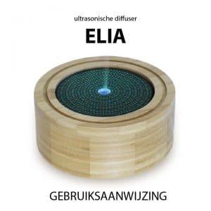 Ultrasonische diffuser Elia gebruiksaanwijzing