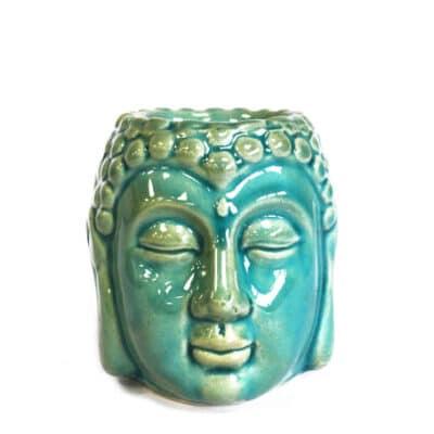 blauwe buddha aromalamp