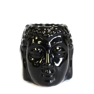zwarte buddha aromalamp