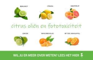 tutorial citrus en fototoxiciteit