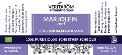 marjolein zoet etherische olie label