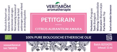 Petitgrain etherische olie flesje